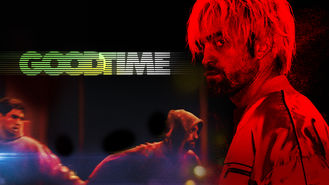 Netflix box art for Good Time